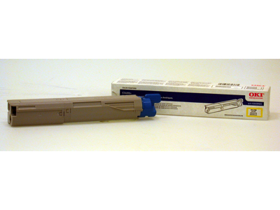 43459401 OKI Yellow Toner Cartridge
