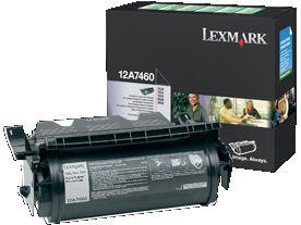 12A7460 Lexmark T63x - X63x Toner cartridge - black