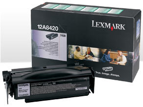 12A8420 Lexmark T430 Toner cartridge - black